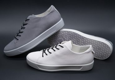 The midsoles are available for an additional price in Ecco's Flexure range of shoes. Photo via Ecco.