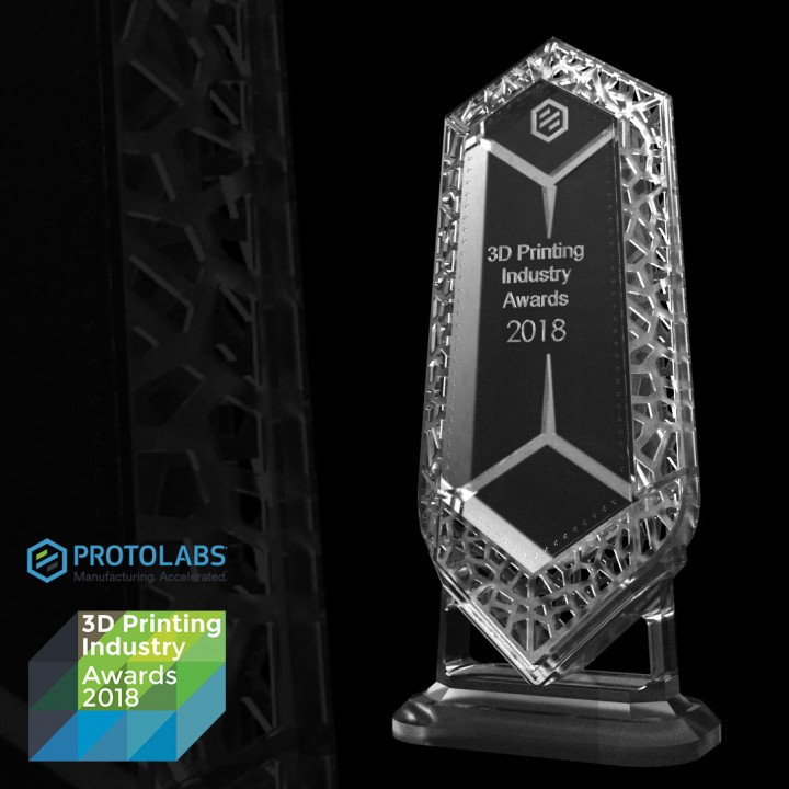 Tom Suggit's crystal trophy design entry. Image via Tom Suggit.
