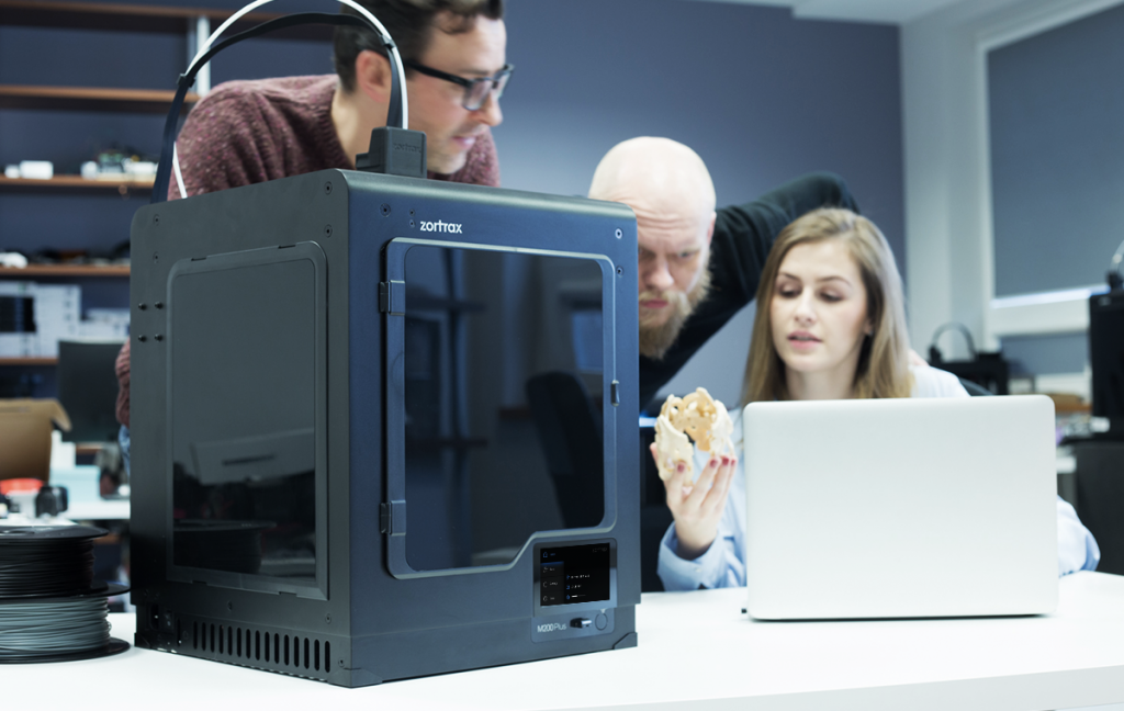The M200 Plus 3D printer -user friendliness for professionals. Photo via Zortrax