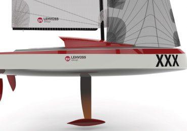 Concept design of the 3D printed Livrea Yacht. Image via Lehvoss Group