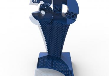 nTopology's trophy. Image via nTopology.