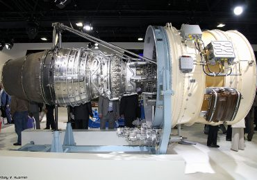 The PD-35 predecessor - Aviadvigatel PD-14 engine. Photo by Vitaly V. Kuzmin