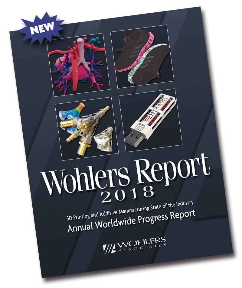 The Wohlers Report 2018.