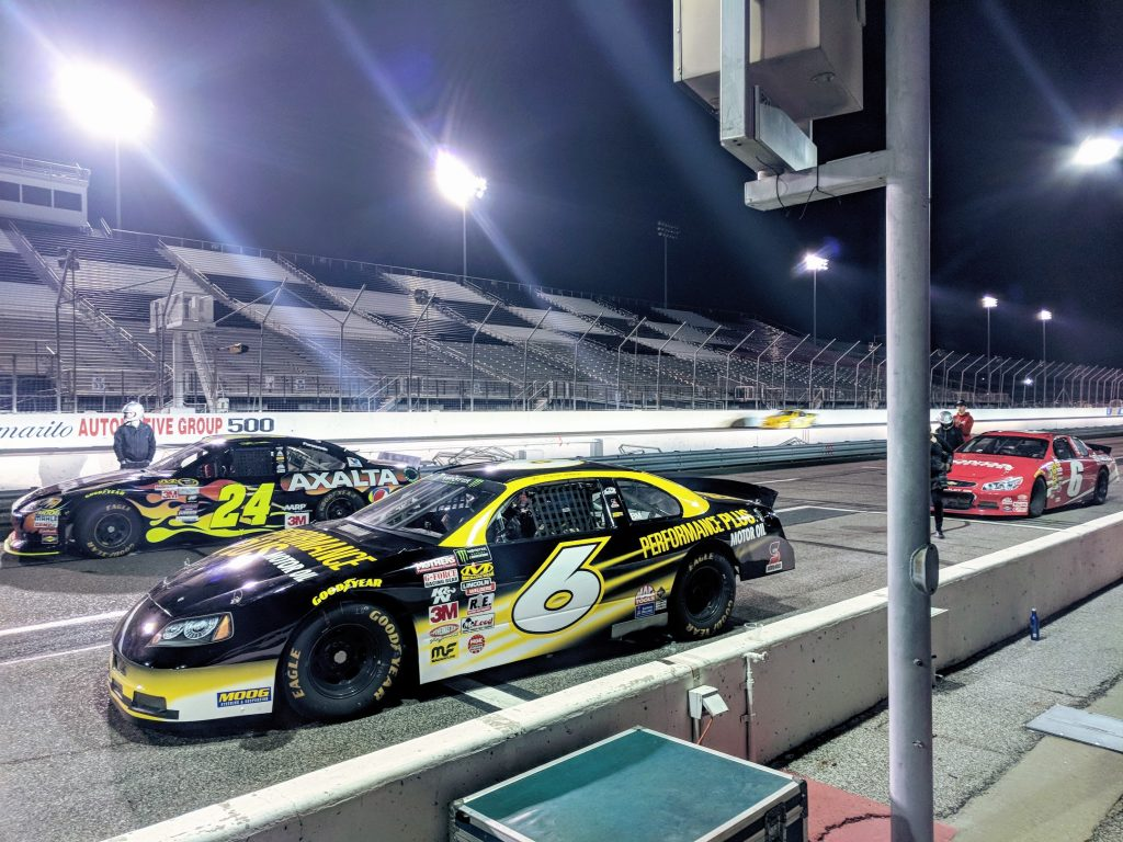 AMUG 2018 attendees enjoyed a night at the NASCAR track. Photo by Michael Petch.