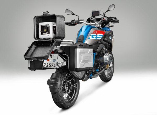 BMW's motorcycle 3D printer. Image via BMW.