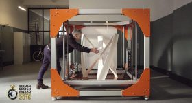 The BigRep one FFF 3D printer has a capacity of one cubic meter. Photo via BigRep