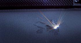 Laser powder bed fusion (LPBF) 3D printing in an EOS machine. Photo via EOS