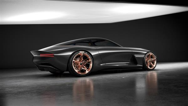 Hyundai has previously included 3D printed parts on its vehicles, such as its Genesis Essentia concept. Photo via Hyundai.
