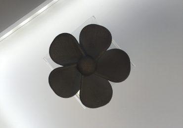 Stratatsys metal 3D printed fan component. Photo by Beau Jackson
