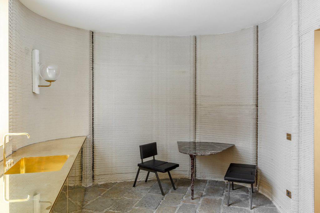 Kitchen in 3D HOUSING 05. Photo via CLS Architetti