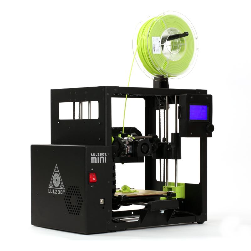 The Lulzbot Mini 2 3D printer. Photo via Lulzbot.