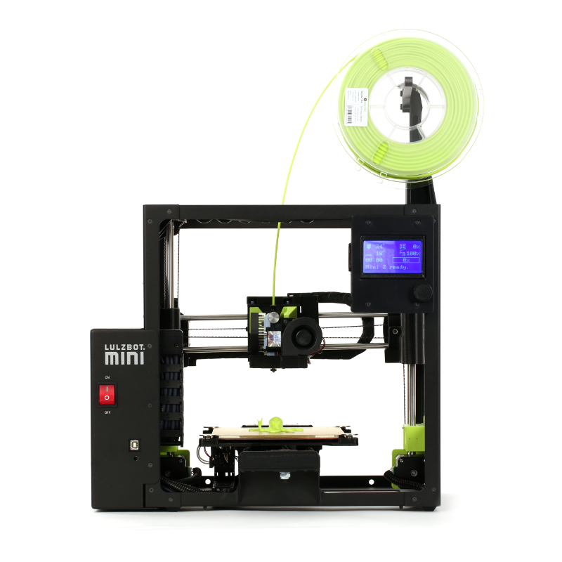 The Lulzbot Mini 2 3D printer. Photo via Lulzbot.