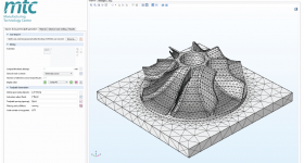 Optimization of an impeller component using the MTC's COMSOL Multiphysics app. Image via The Manufacturing Technology Centre