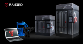 Raise3D's Flexible Manufacturing solution including the Pro2 Series