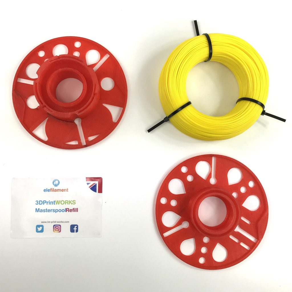 Masterspool and refill. Photo via 3D Print Works.