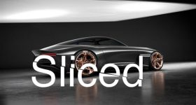SLICED Hyundai's new concept car the Genesis Essentia features 3D printed parts. Image via Hyundai.