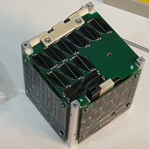The Alpha CubeSat, developed by SSDS. Photo via SSDS.