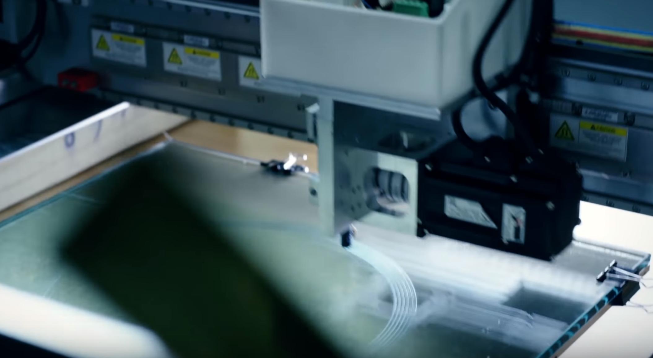The Essentium High Speed Extrusion 3D printer. Image via Essentium.