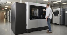 The new F900 Production 3D Printer. Photo via Stratasys.