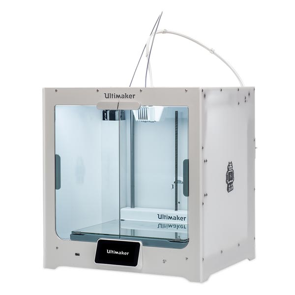 The new Ultimaker S5 3D printer. Photo via Ultimaker.