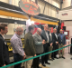 The unveiling of the Thermobot 3D printer at the ORNL Manufacturing Demonstration facility in Tennessee. Photo via Innovation Valley Twitter