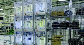 Ultimaker 3D printers at Jabil's Auburn Hills facility. Photo via Jabil.