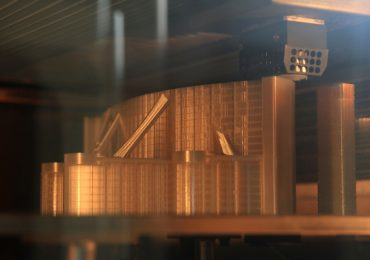 FDM 3D printing the A20 spacer panels for Finnair. Photo via Materialise
