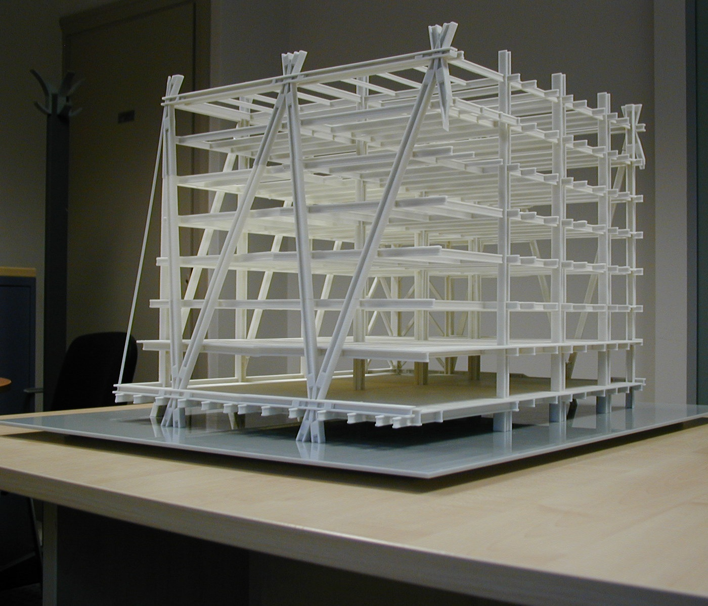 AEC Structural Model for civial engineering made at CDG UK. Photo via CDG UK.