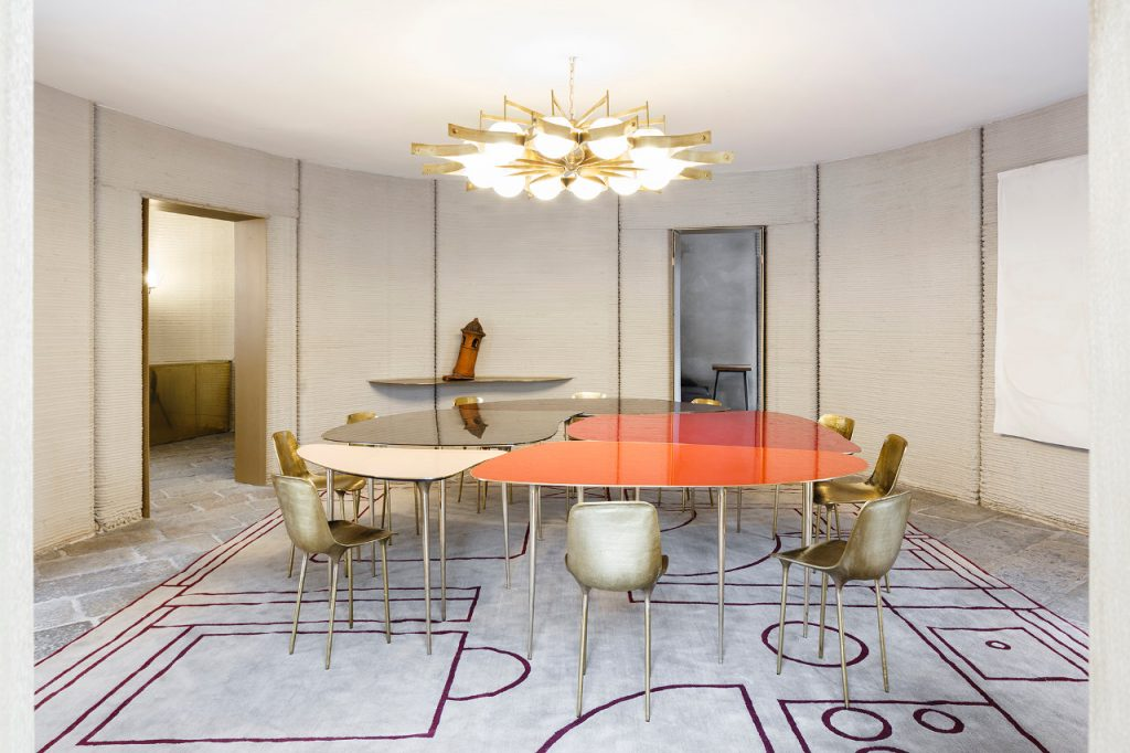 Living/dining room of 3D HOUSING 05. Photo via CLS Architetti