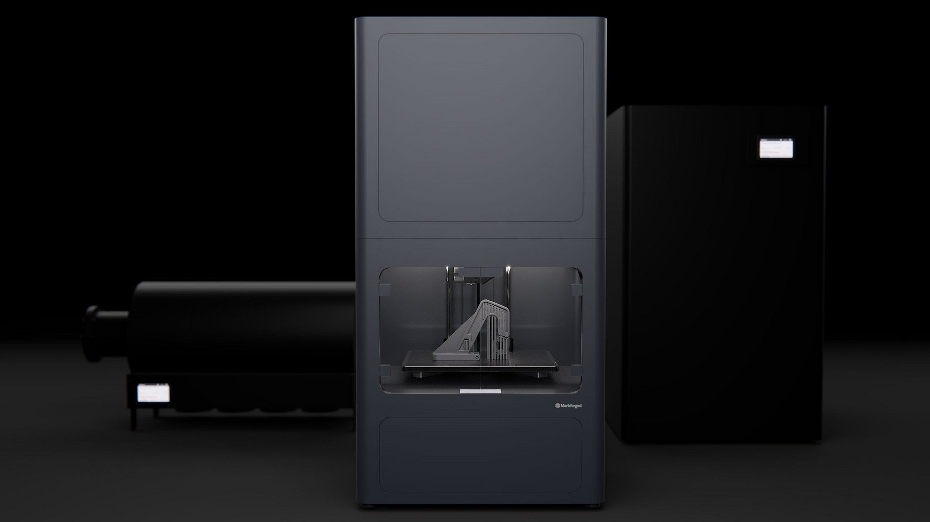 The Metal X 3D printer from Markforged. Photo via Markforged