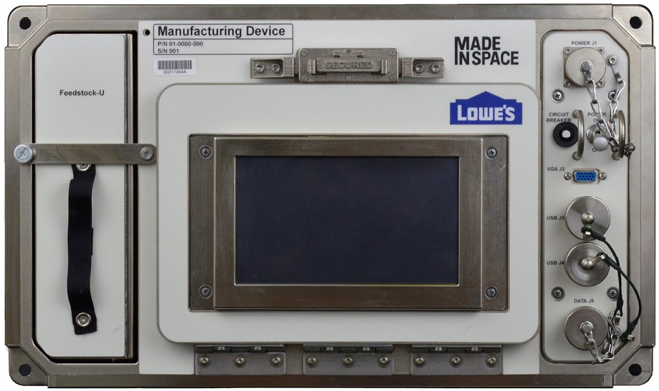 The original Made In Space Additive Manufacturing Facility (AMF) now aboard the ISS. Photo via Made In Space
