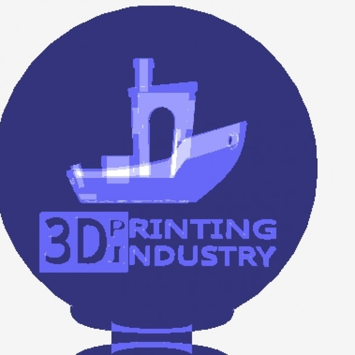Benchy Trophy by Shootme 3D Printing Industry Awards 2018 trophy competition entry.