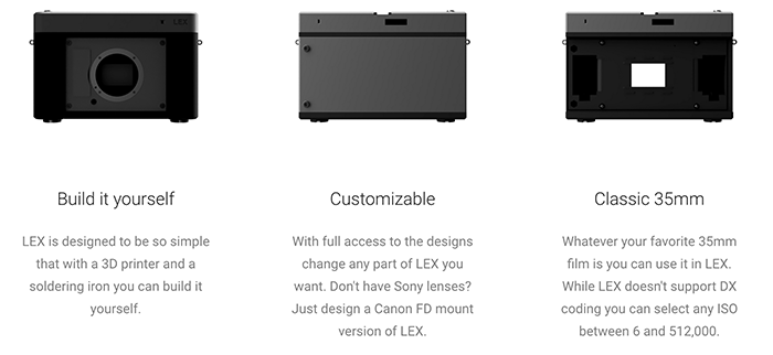 The Lex camera concept. Image via Lex Optical