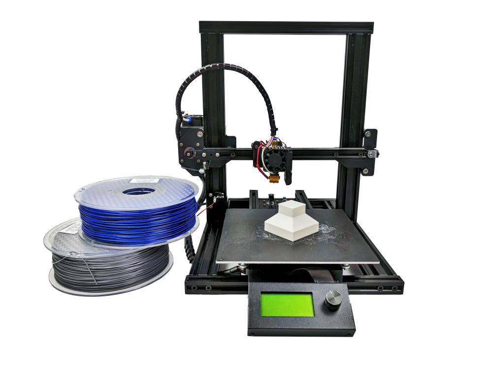 The M3D Crane Quad 3D printer. Photo via M3D.