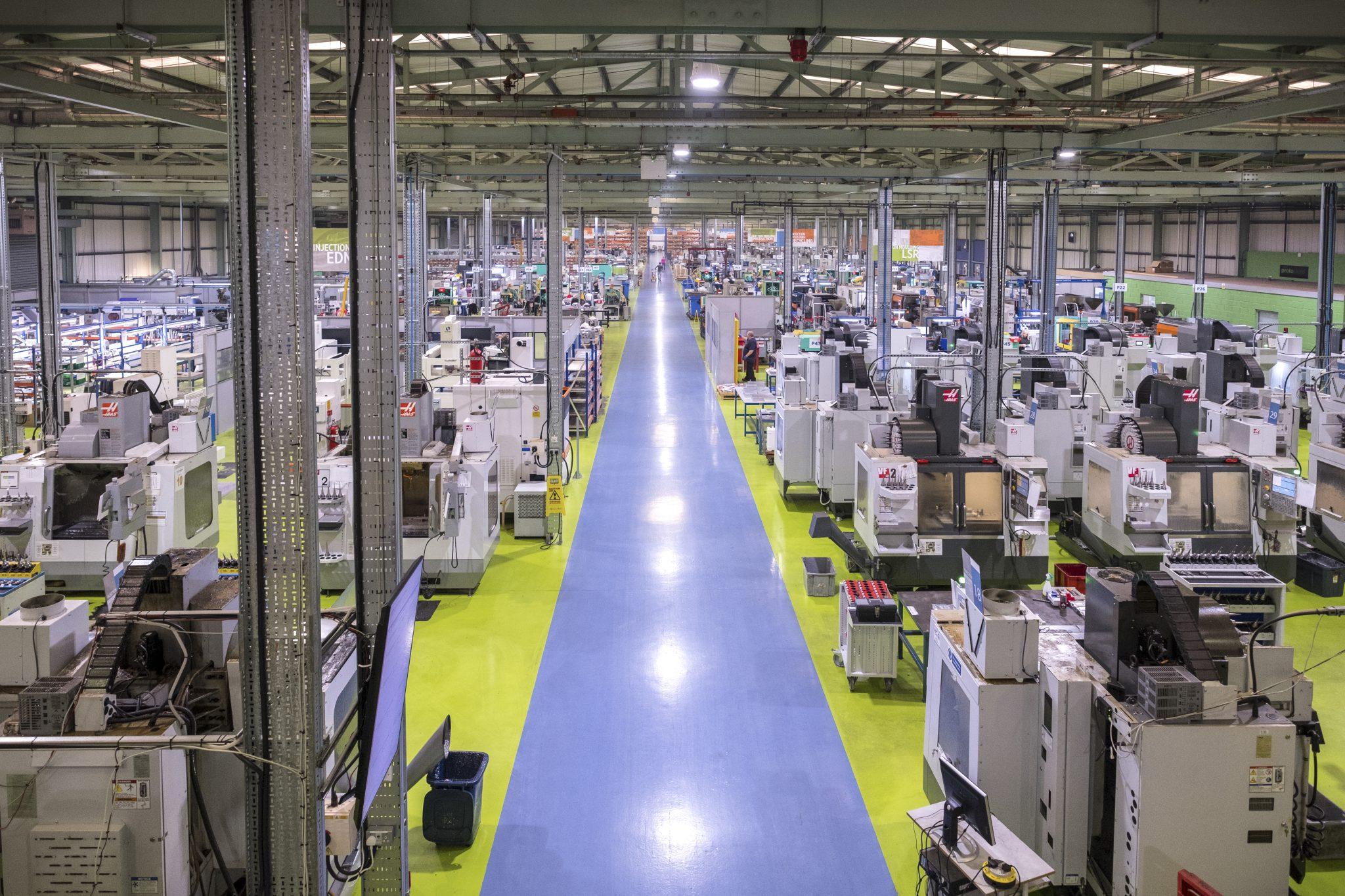 Protolabs facilities. Photo via Protolabs.