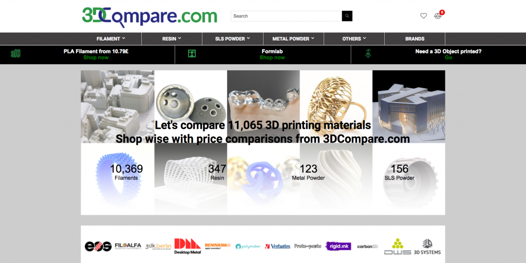 The 3DCompare material comparison tool. Image via 3DCompare.