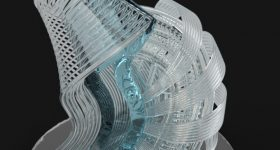 Sruthi Venkatest 3D Printing Industry Awards 2018 trophy winning competition entry.