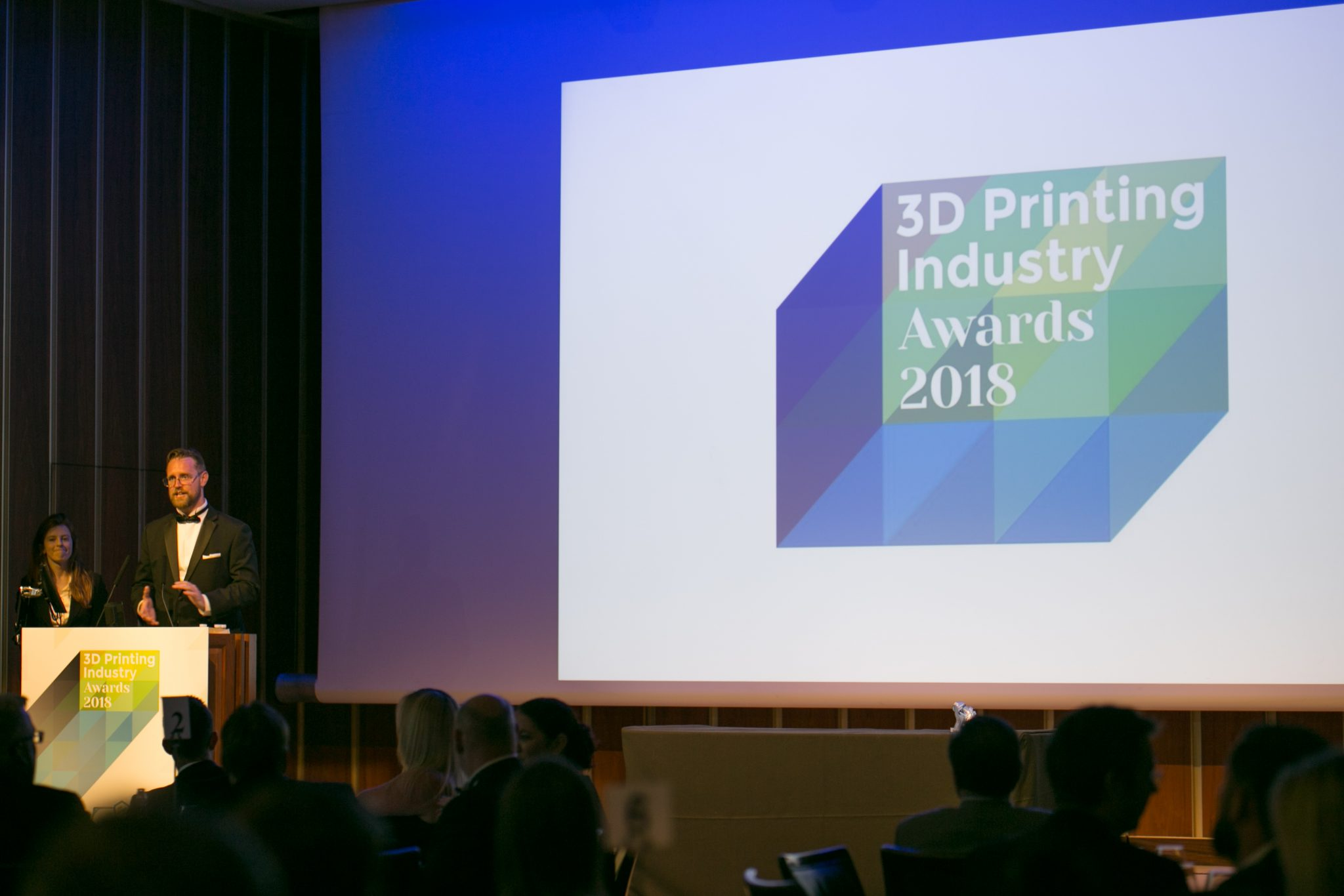 The 2018 3D Printing Industry Awards.