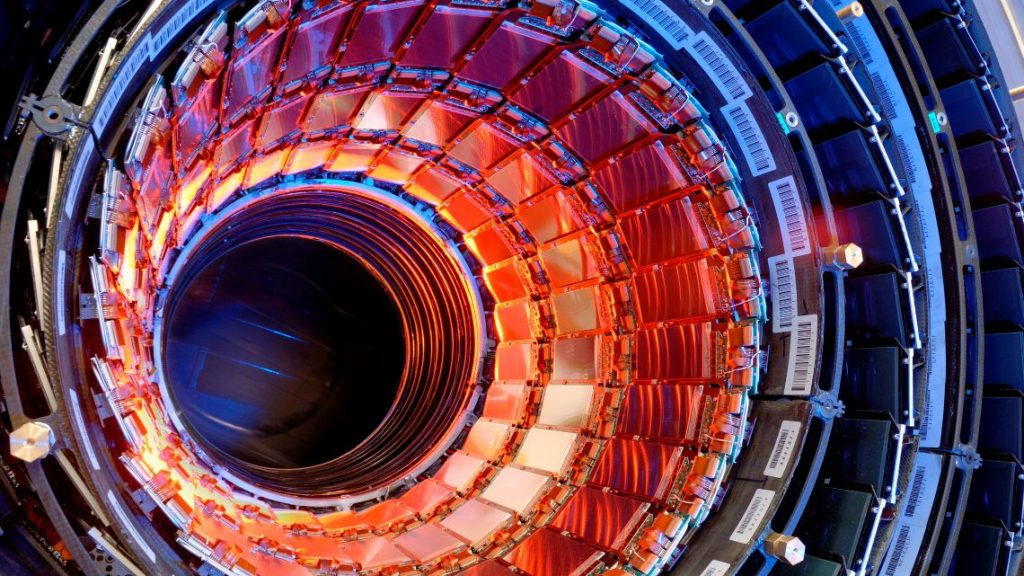 The Large Hadron Collider at CERN in Switzerland. Photo via CERN