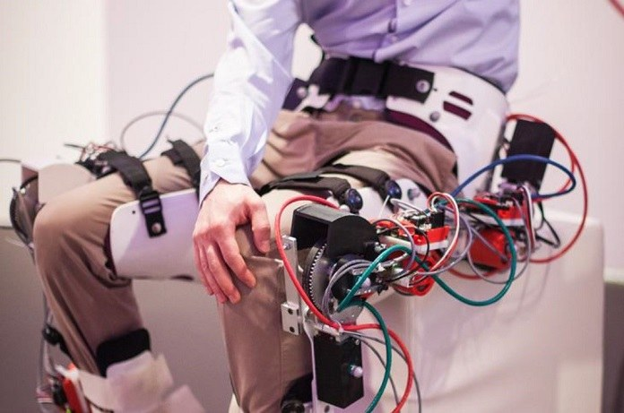 R&MM's MIRAD, a powered assistive exoskeleton. Photo via Artec