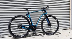 AREVO's 3D printed bike frame. Photo via AREVO
