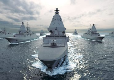 Visuals used in the Australian Future Frigates SEA 5000 program. Image via Fincantieri