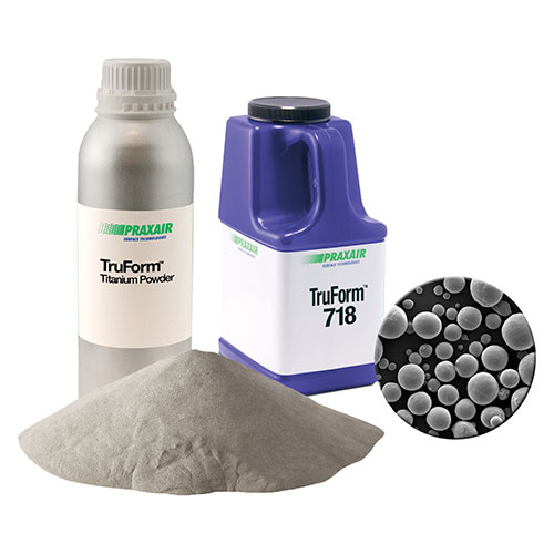 TruForm metal additive powders. Image via TruForm.