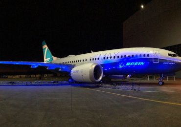 The Boeing 737 MAX. Photo via Boeing Co.