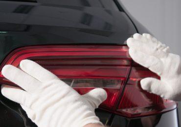 Audi tail lights produces on a J750. Photo via Stratasys