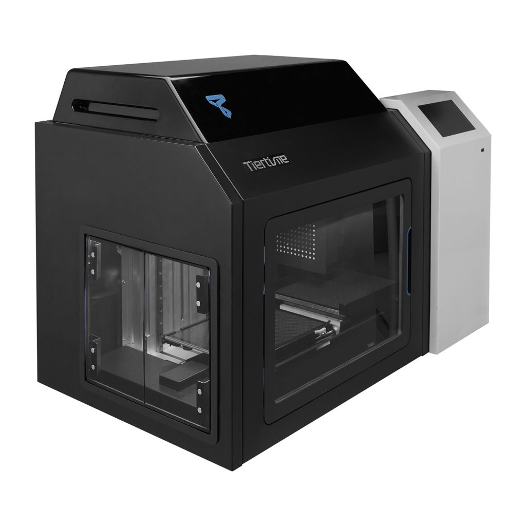 The X5 continuous 3D printing system. Photo via Tiertime