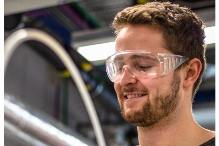 UC Master of Engineering student Benjamin Houlton. Photo via the University of Canterbury.