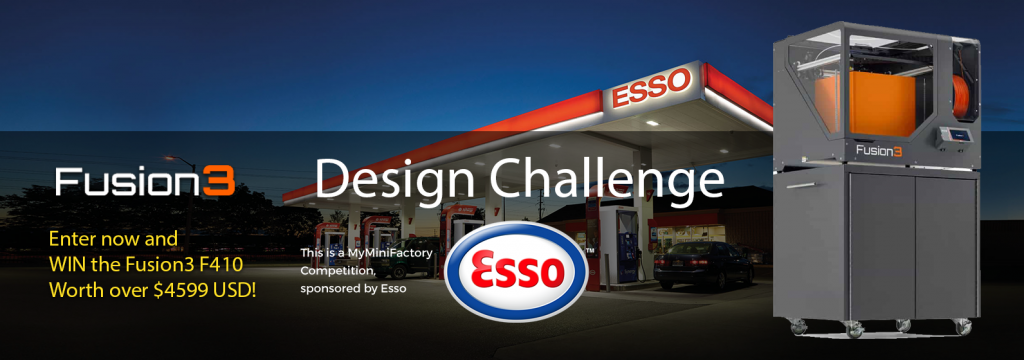 The ESSO and MyMiniFactory 3D Design Challenge.