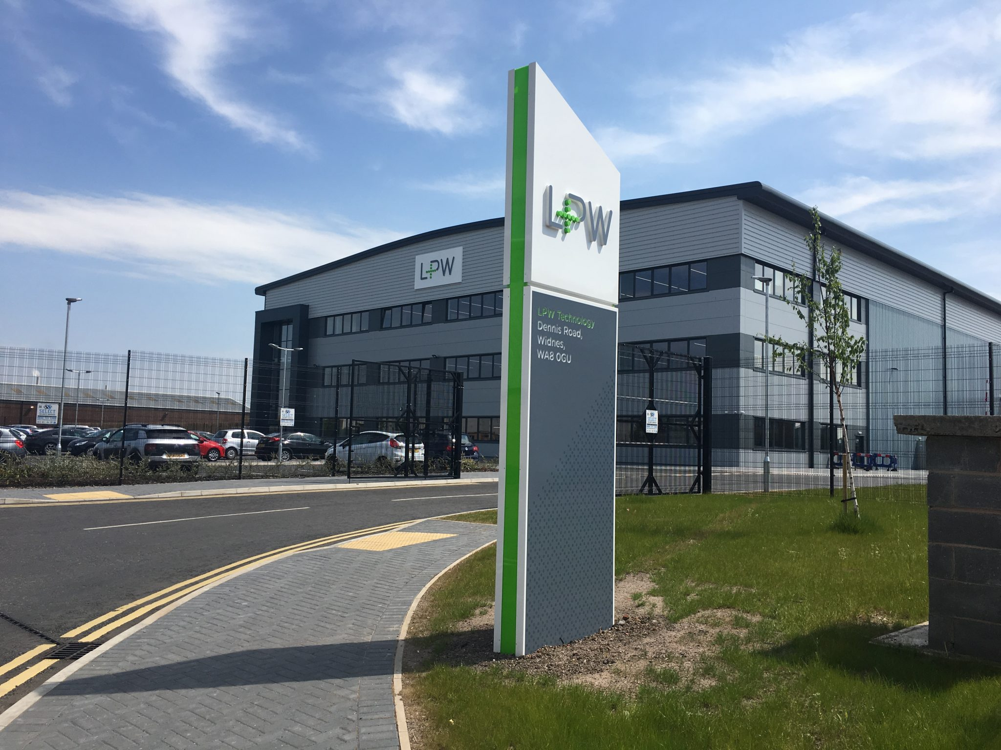 Featured image shows LPW Technology's new metal powder production facility in Halton, Cheshire.