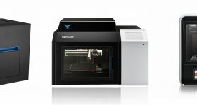 The Tiertime UP300, X5 and UP mini 2 ES now available in Europe from Machines-3D. Photo via Tiertime